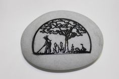 A personal favorite from my Etsy shop https://www.etsy.com/listing/203619348/3-inch-tree-of-life-engraved-etched