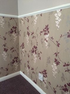 Wall design Paint & wallpaper with dado rail