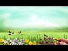 Красивый футаж   Весёлое лето - YouTube
