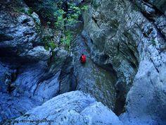 Kakorema canyon, mt Othrys, central Greece