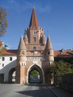 Ingolstadt, Germany - I used to walk through this place on my way to classes.