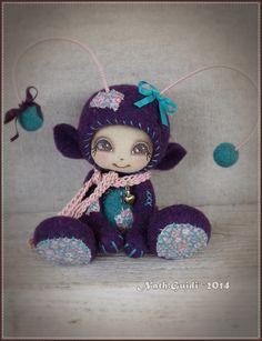 Turquoise, Creations, Etsy, Christmas Ornaments, Holiday Decor, 2013, Needle Felting, Home Decor, Fabric Dolls