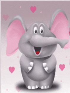Envía una postal animada a tus amigos Tu nombre Tu dirección email Dirección email de tu amigoMensaje Imágenes en movimiento de un elefante tierno. Fondo animado elefante amoroso como estas imágenes en movimiento de un elefante tierno que podrás descargar gratis online. Dibujos gif con elefantes. Descarga completamenta gratis en un segundo estos amorosos dibujos gif con elefantes dando abrazos. Compartir:GoogleTwitterFacebookPinterest