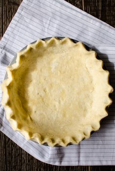 Old-Fashioned Chess Pie with a Buttermilk Pie Crust