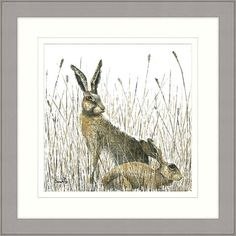 'Hare' today, gone tomorrow - a couple of hours in the window and already off to a new home! https://www.artworx.co.uk/collections/prints/products/watch-over