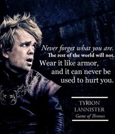 Wear it like armor. Game of Thrones.