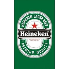 NeoPlex Heineken Polyester 60 x 36 in. Picture Logo, Marianne Design, The Originals, Grand Prix, Fathers Day, Pictures, Beer Labels, Bottle Labels, Lager Beer