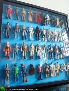Little Plastic Man: Displaying my Vintage Star Wars
