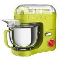 Bodum - Elektrische Küchenmaschine 4.7 l, limettengrün