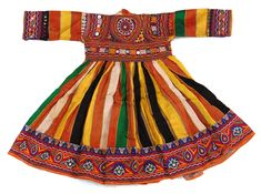 tribalartandtextiles: afghan, tibetan, indian, antique, textiles, jewellery, ivory, embroidery, silver, costumes, ethnic, himalayan, byron bay, interior, decoration, furnishings - Child's festival dress - (Powered by CubeCart)