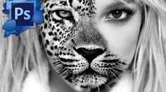 photoshop effects - YouTube
