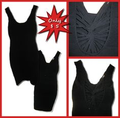 Wow Couture dress with embellished back   Size: 6   Price: $5