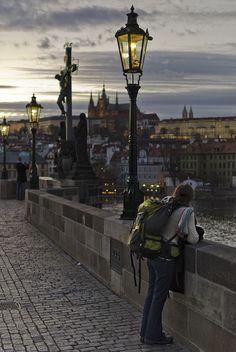 tourist in Prague, Czech Republic (by J_CubiC_Z)....THAT WILL BE ME SOON!!!