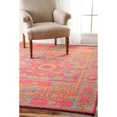 Shop for nuLOOM Persian Mamluk Medallion Orange Rug (5' x 7'5). Get free shipping at Overstock.com - Your Online Home Decor Outlet Store! Get 5% in rewards with Club O!