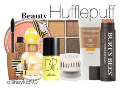 """""""Hufflepuff"""" by disneykid95 ❤ liked on Polyvore featuring beauty, Topshop, Rimmel, Marc Jacobs and BP."""