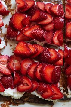 This is an ideal vehicle for the ripest strawberries at the height of the season, a dessert that makes more of a splash than just serving berries and cream but still has that simple charm. (Photo: Melina Hammer for The New York Times)