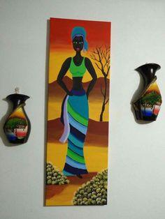 Drawing Stencils, Eagle Pictures, Alone Art, Afrique Art, African Art Paintings, Casamance, Black Girl Art, Montevideo, Mural Art