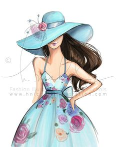 "More illustrations LINE BOTWIN ""girly illustrations"" #chic #fashion #girly…"
