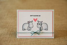 """card made by nicole using """"too hip"""" from sweet stamp shop"""