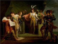 'Henry V', Act II, Scene 2, Henry V Discovering the Conspirators - Henry Fuseli