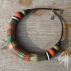 MaxiBead Necklace by E.H.design, via Flickr