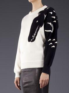 VIKTOR & ROLF - black horse design sweater 8