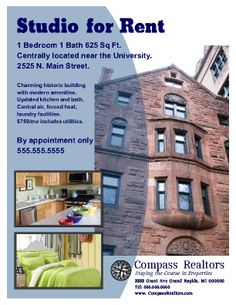 apartment marketing plan template - 1000 images about flyer templates on pinterest flyers