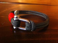 Handmade Nautical Paracord Bracelet Olive by LostCoastCreations, $18.00