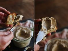 Eggplant pate Real Food Recipes, Vegetarian Recipes, Cooking Recipes, Recipe Collector, Charcuterie Platter, Greek Cooking, Food Platters, Good Enough To Eat, Holiday Dinner