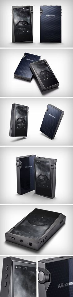 ASTELL & KERN'S NEW HI-FI AUDIO PLAYER HAS THE STRANGEST BEZELS ON THE PLANET. The idea behind the tilted screen was probably to give you a gradually thickening bezel, while not compromising on the screen size. The thickened bezel then plays host to the fat volume knob, a design detail that is intended to stand out in function above the rest of the controls. Feature-wise, the A&norma SR15 is a great player with exceptional audio reproduction.
