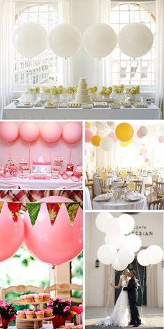 Restaurant Reservation: Round Balloons