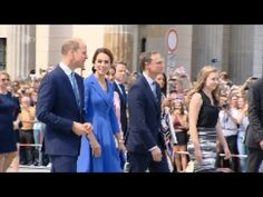 Prinz William und Herzogin Kate in  Berlin Jubel am Brandenburger Tor