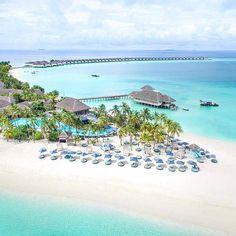 🌎Отель Finolhu   Мальдивы.🇲🇻  📝Finolhu Мальдивы раскинулся на уединенном частном острове с ослепительно-белыми пляжами, окруженными прозрачными водами лагуны.😍 Остров находится в биосферной зоне атолла Баа, уникальный подводный мир которого охраняется ЮНЕСКО. Фешенебельный отель 👑предлагает сочетание стильного дизайна, первоклассного сервиса и первозданной природы Мальдив. Над лазурными водами лагуны и в тропических зарослях у пляжа располагаются просторные шикарные виллы — многие с…