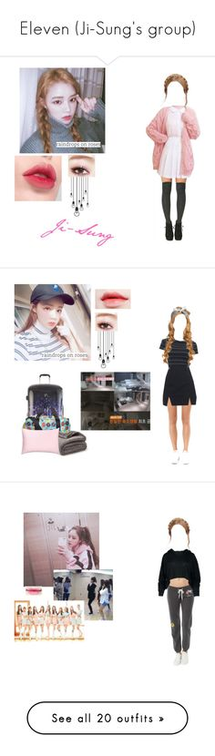 """Eleven (Ji-Sung's group)"" by galaxy-anons-and-ocs ❤ liked on Polyvore featuring Laneige, Heys, Terez, Monrow, Moschino, LE3NO, GCDS, Vans, 3x1 and adidas"