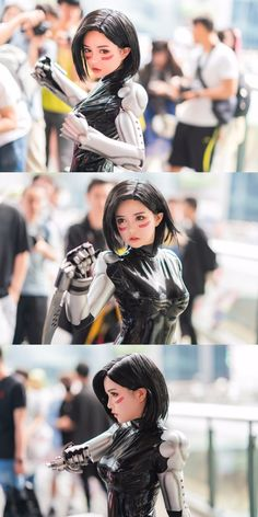 Alita: Battle Angel cosplay by Latex Cosplay, Amazing Cosplay, Best Cosplay, Cosplay Characters, Female Characters, Anime Cosplay Girls, Super Heroine, Animation 3d, Battle Angel Alita