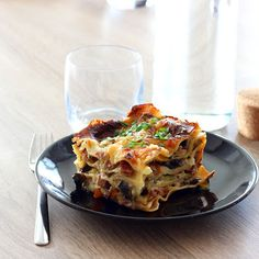 Lasagne Courgette - Champignon & Jambon