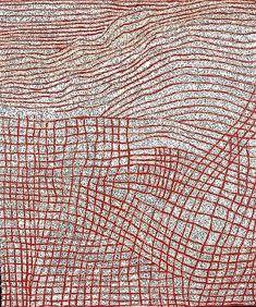 WALANGKURA NAPANANGKA / Women's Dreaming, 2004   154 x 184cm