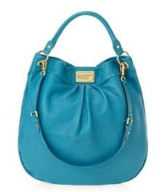 Marc by Marc Jacobs classic q hillier in turquoise. why, oh why, is this not a permanent color in the collection???