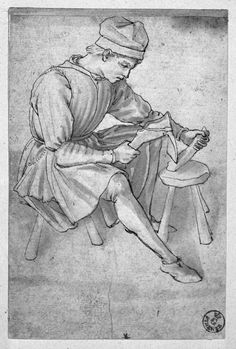 Maso Finiguerra (1426-64), Apprentice Woodworker, Florence, Uffizi