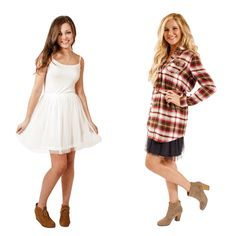Layer this basic cami dress under a tunic or dress for extra length and cuteness!!