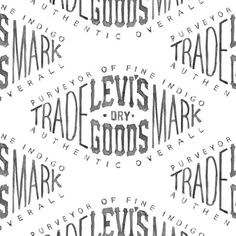 Levi's Dry Goods by Bmd