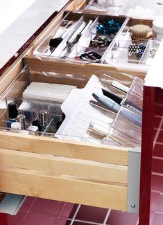 ¿El orden dentro del orden? ¡En los separadores para cajones de tu baño!