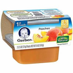 Any Four Gerber 1st Foods $1.00 Off With Printable Coupon!