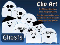Ghost Clip Art Halloween Autumn Fall