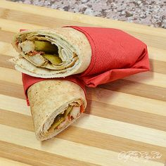 shawerma sandwich close up