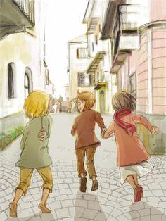 進撃 の 巨人 Shiganshina Trio