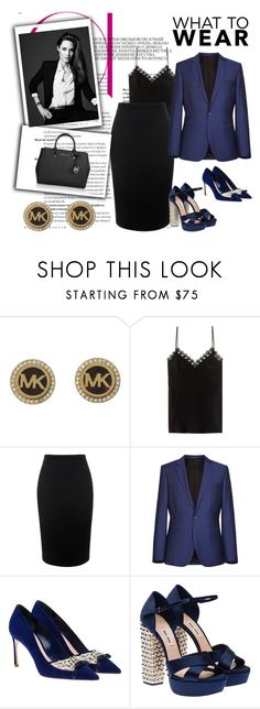 What to Wear to Work by destinyfaith1207 on Polyvore featuring Alexander McQueen, Miu Miu, Michael Kors, women's clothing, women's fashion, women, female, woman, misses and juniors