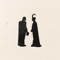 Thor and Loki .gif