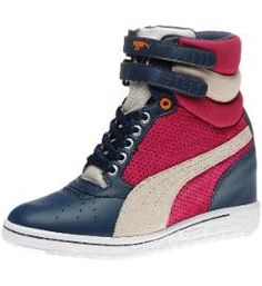 Puma Sky Wedge Womens Sneakers