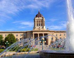 The #Manitoba Legislature Building, formerly a mason lodge